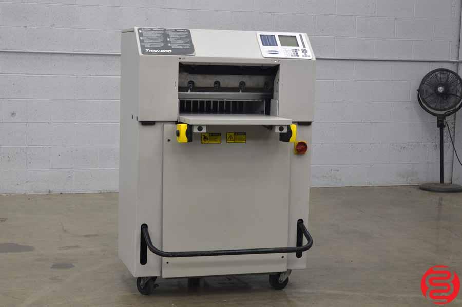 "Challenge Titan 200 20"" Programmable Hydraulic 20"" Paper Cutter"