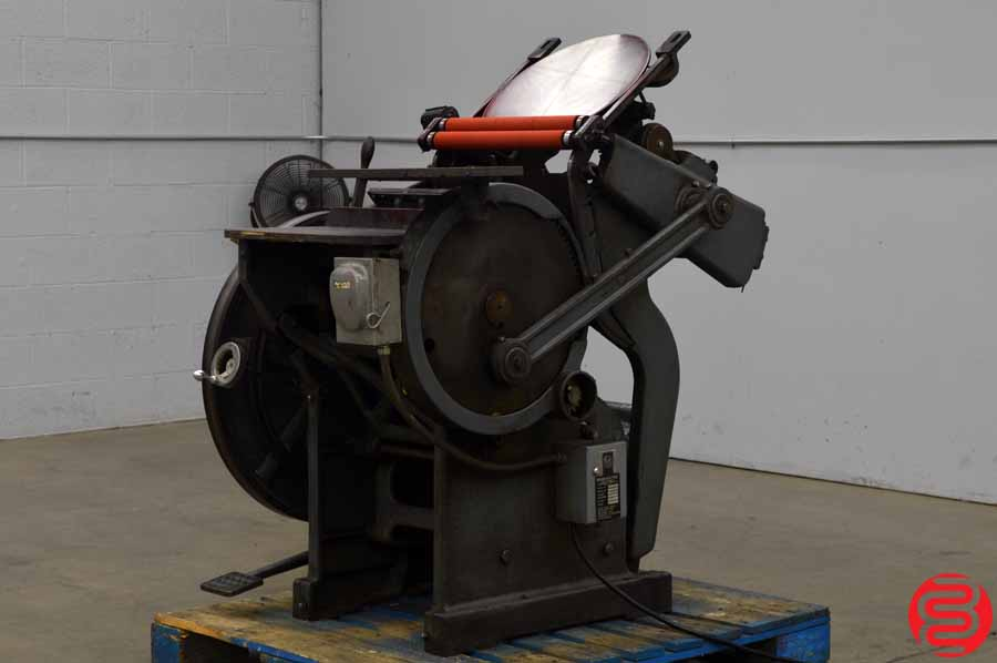 Chandler and Price 10 x 15 Platen Press