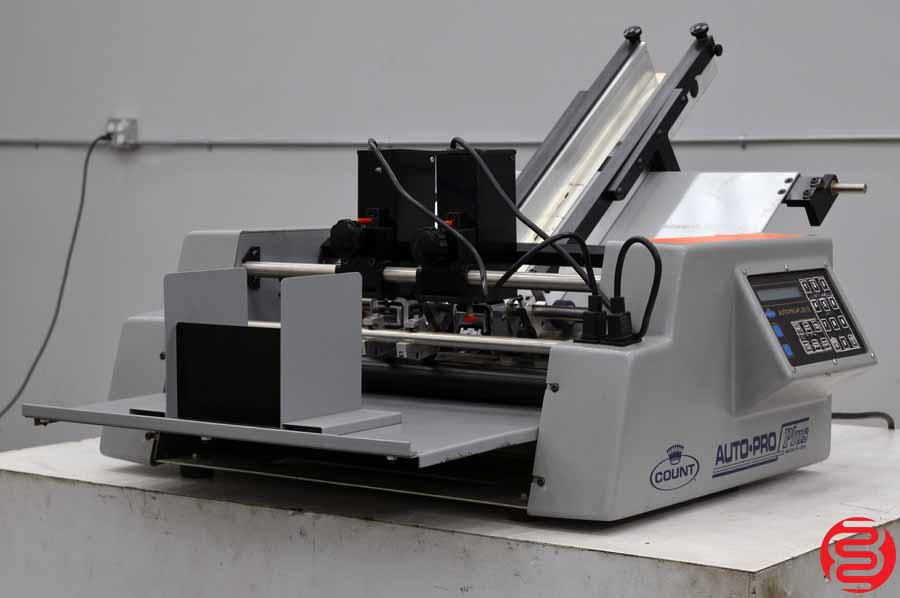 Count Auto-Pro Plus II Numbering Machine w/ Two Numbering Heads