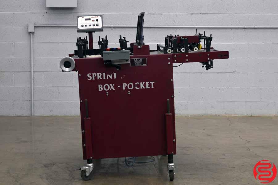 Dick Moll Sprint Box-Pocket Folding Machine