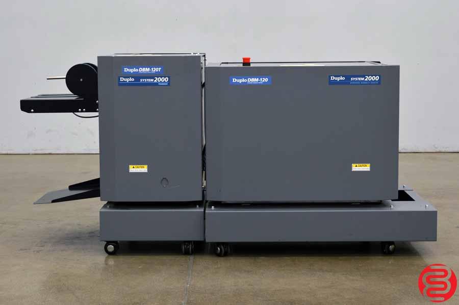 Duplo System 2000 Booklet Maker w/ Stitcher, Folder, and Trimmer