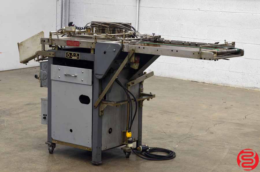 E-Z Machine RE84 Tab Reinforcing Machine