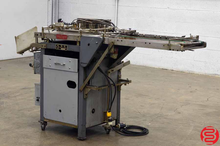 E-Z Machine RE84 Tab Reinforcing Machine