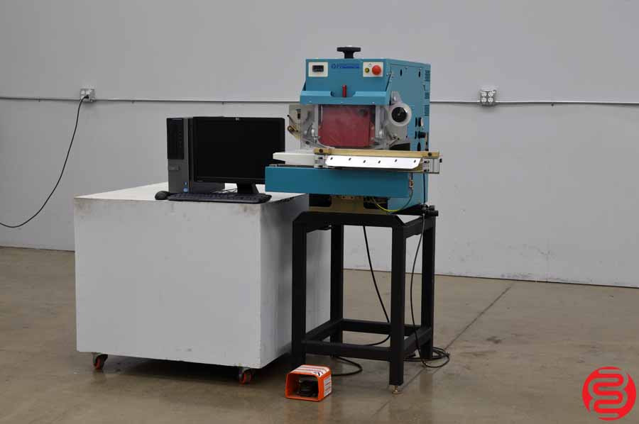 Flesher Premere Computerized Hot Stamping Machine w/ Rip Computer