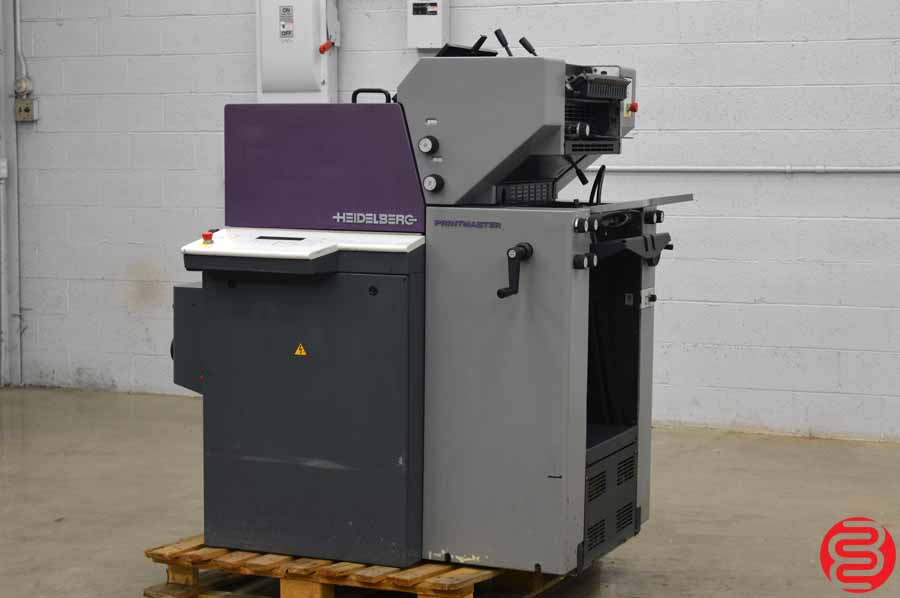 2000 Heidelberg Printmaster QM 46-2 Two Color Printing Press