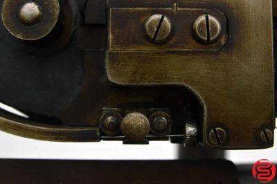 JL Morrison 3 J Flat Book Stitcher / Saddle Stitcher
