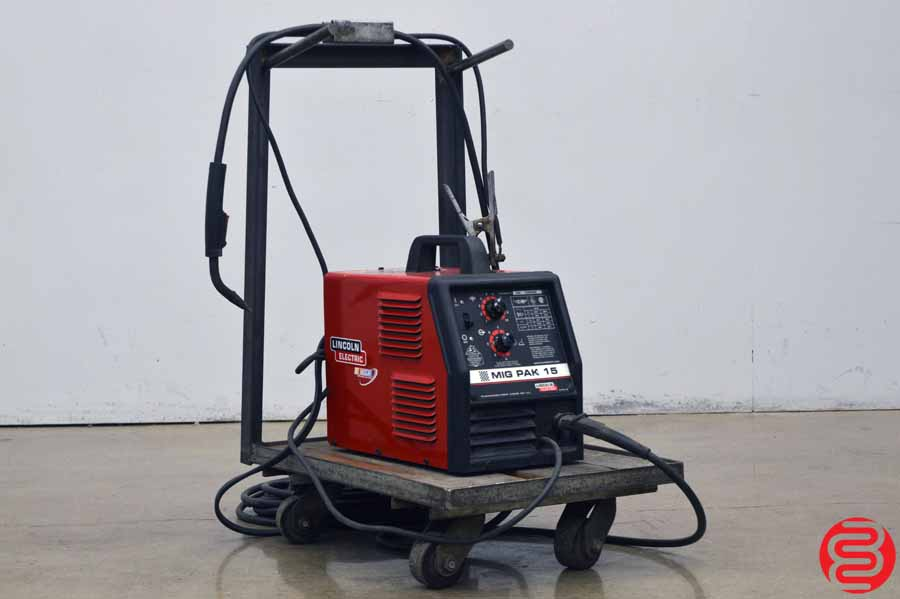 Lincoln Electric MIG Pak 15 Welder