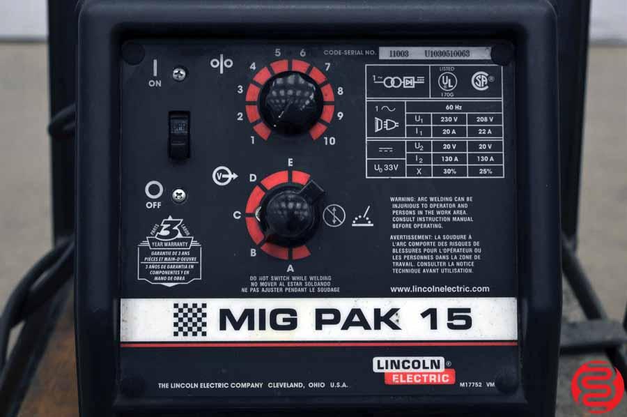 Lincoln Electric MIG Pak 15 Welder