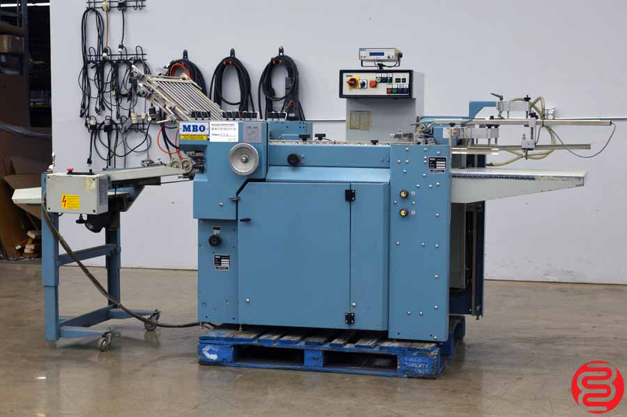 MBO B20 Pile Feed Paper Folder w/ Mobile Delivery