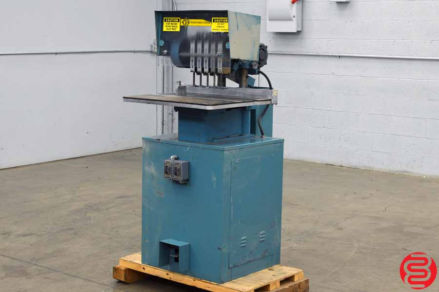 Nygren Dahly Five Spindle Hydraulic Paper Drill