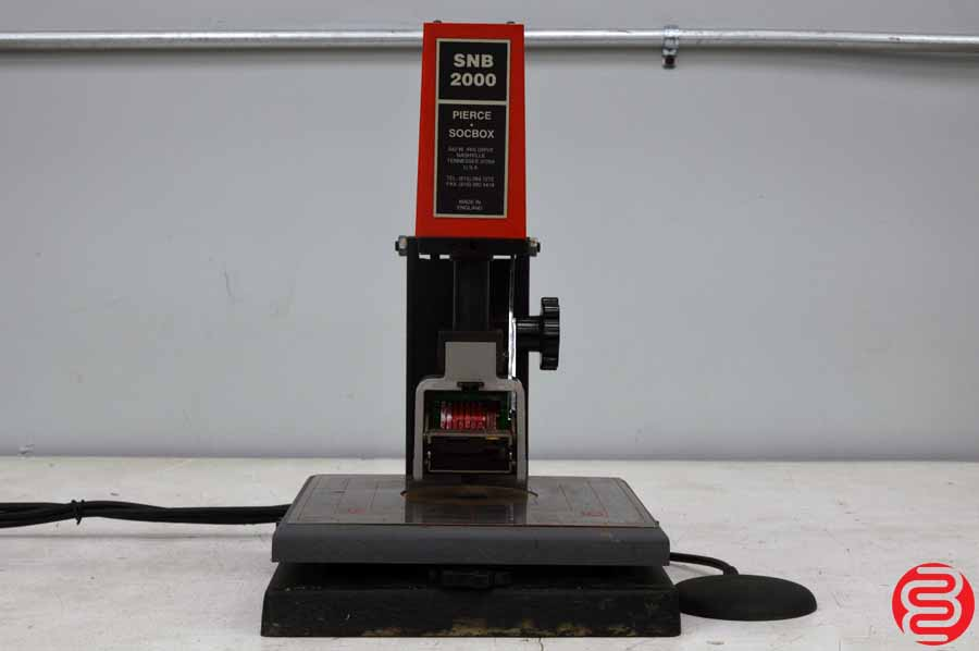 Pierce Socbox SNB 2000 Numbering Machine