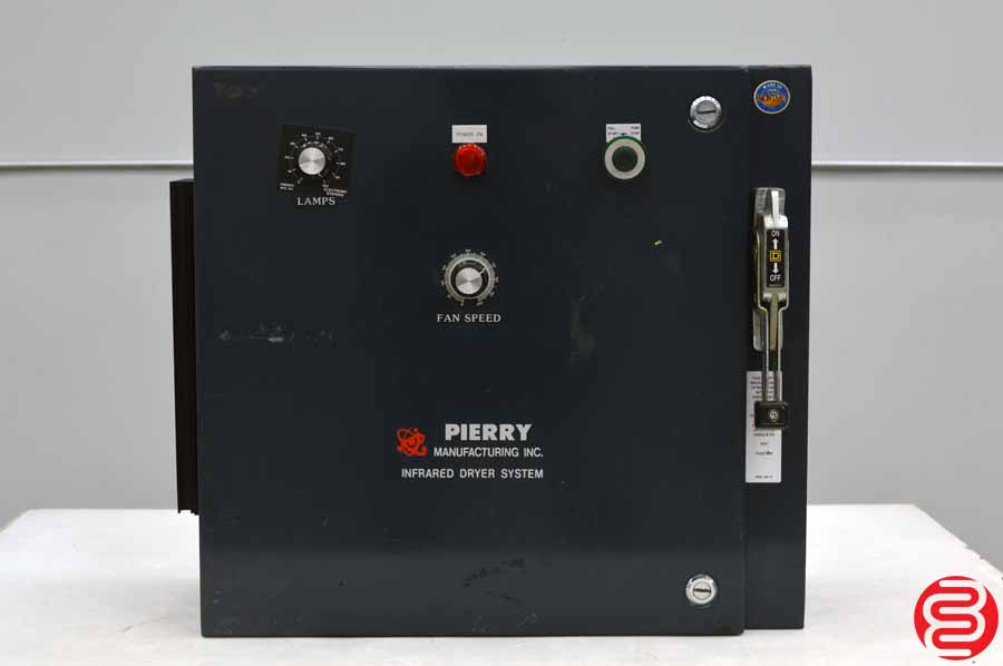 Pierry Model S Infrared Dryer System Control Box