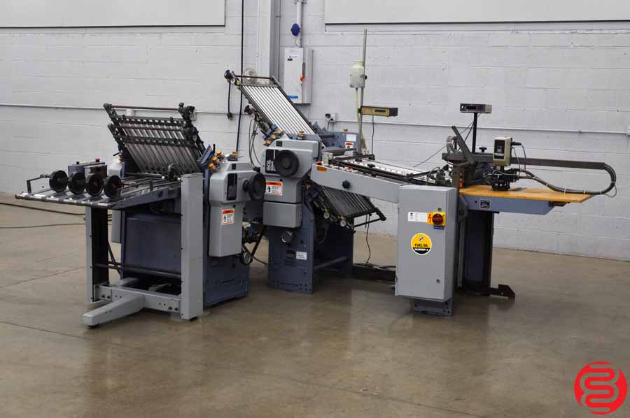 Stahl TF 56 Pile Feed Paper Folder w/ 8 Page Unit and Mobile Delivery