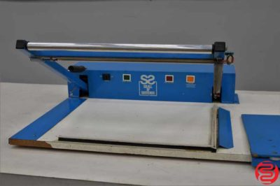 Stevenson Seal N' Shrink Semi-Automatic Shrink Wrap Machine
