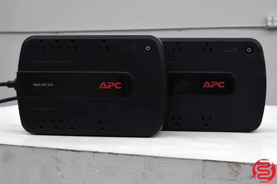 APC Back-UPS 550 Backup Battery and Surge Protector - Qty 2
