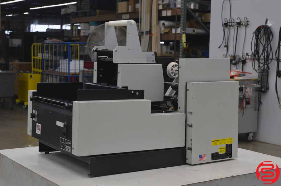 Accufast XL Labeling Machine w/ Accufast KT2 Double Head Tabbing Machine