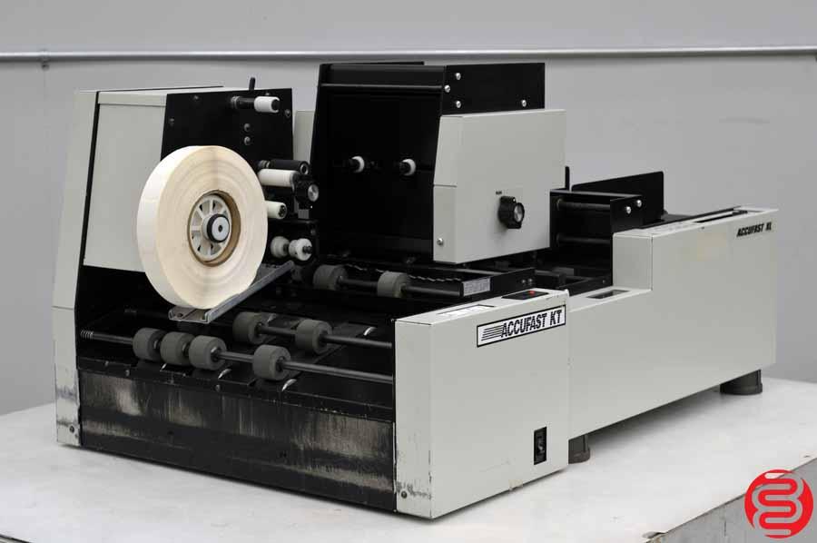 Accufast XL Labeling Machine w/ Accufast KT Tabbing Machine
