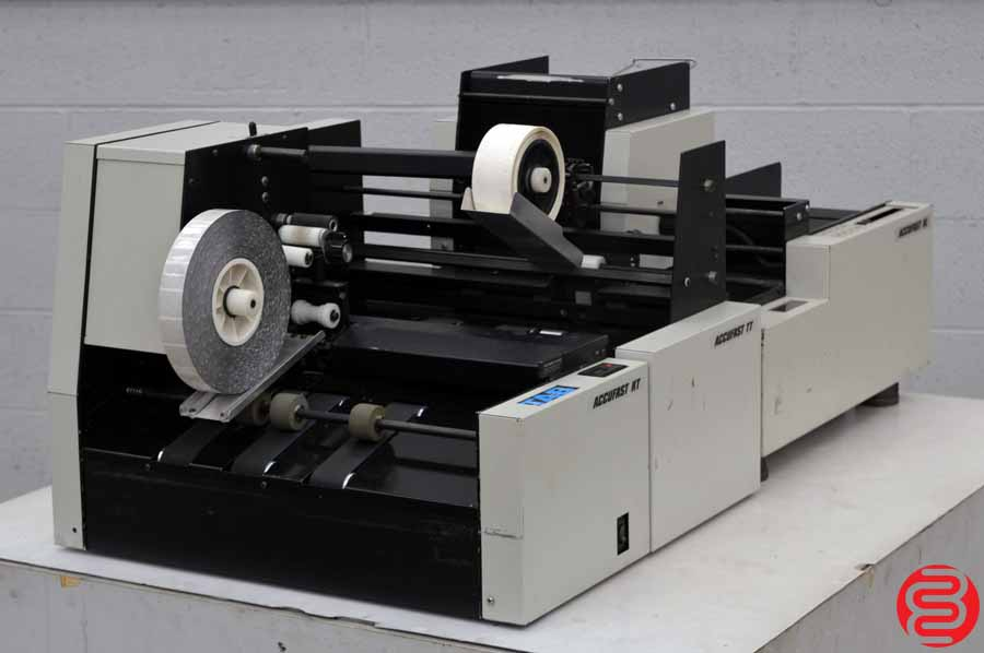Accufast XL Labeling Machine w/ Accufast KT Tabbing Machine and TT Wafer Sealer