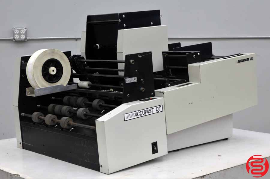 Accufast XL Labeling Machine w/ Accufast QT Tabbing Machine