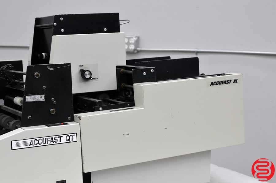 Accufast XL Labeling Machine w/ Accufast QT Tabbing Machine