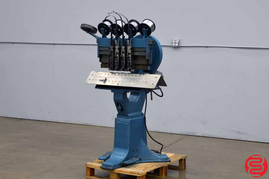 Acme Interlake Model P Multiple Head Flat Book / Saddle Stitcher