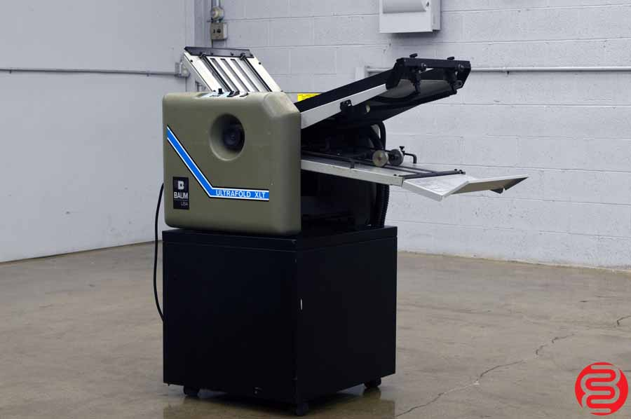 Baum 714 Ultrafold XLT Vacuum Feed Paper Folder
