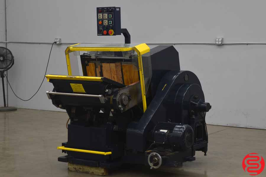 Brausse PE 402/50 Handfed Diecutting and Creasing Machine