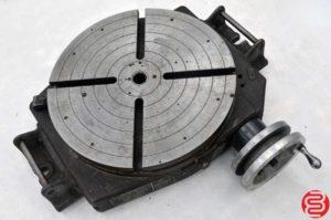 Bridgeport 15 15″ Manual 360° Low Profile Rotary Table