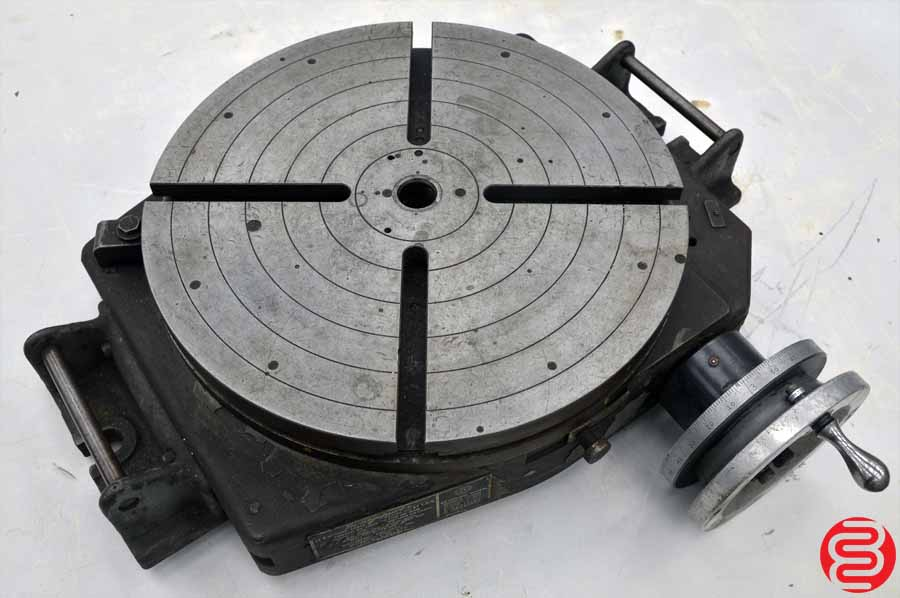 Bridgeport 15 15″ Manual 360° Low Profile Rotary Table
