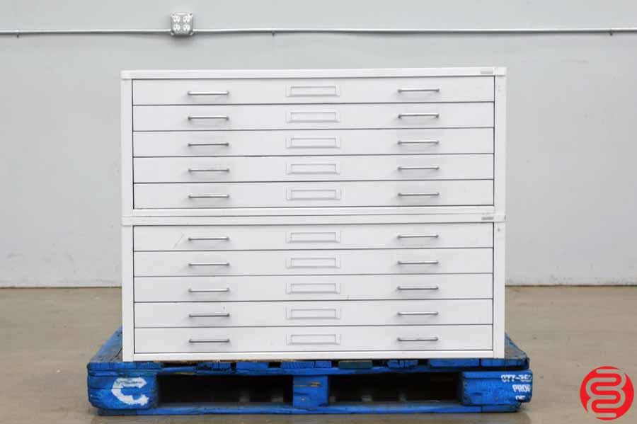 Charrette Flat Filing Cabinet - Qty 2