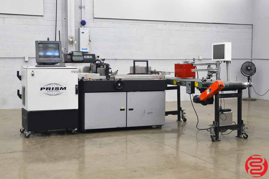Cheshire 7000 Series Video Jet Inkjet Print System w/ Prism Control System, Tabbing, and Labeling System