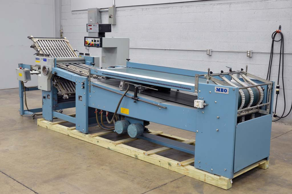 MBO B123 Continuous Feed Paper Folder