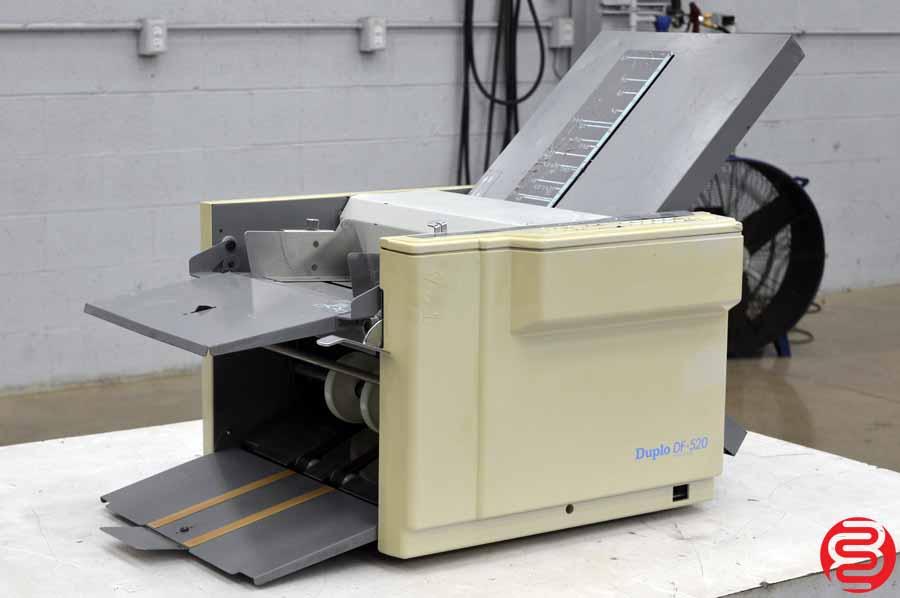Duplo Folder DF-520 Paper Folder