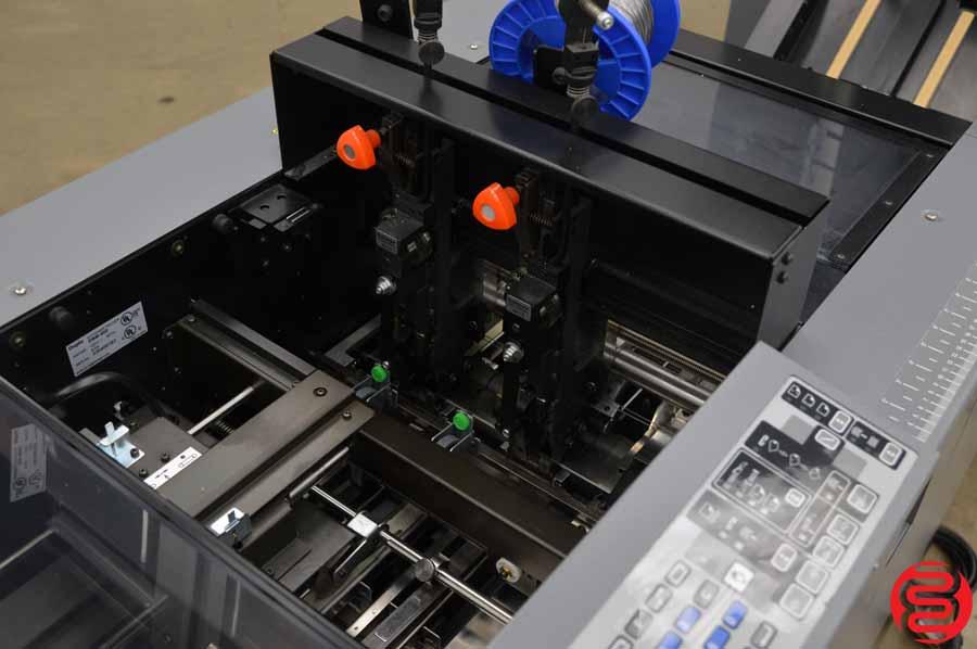 Duplo System 4000 20 Bin Booklet Making System w/ Stitcher, Folder, Trimmer, Kicker, Connecting Bridge and Lifting Unit