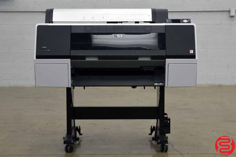 2013 Epson Stylus Pro 7900 Large Format Printer