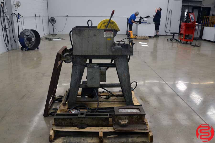 "Everett 10"" Wet Abrasive Cutoff Machine"
