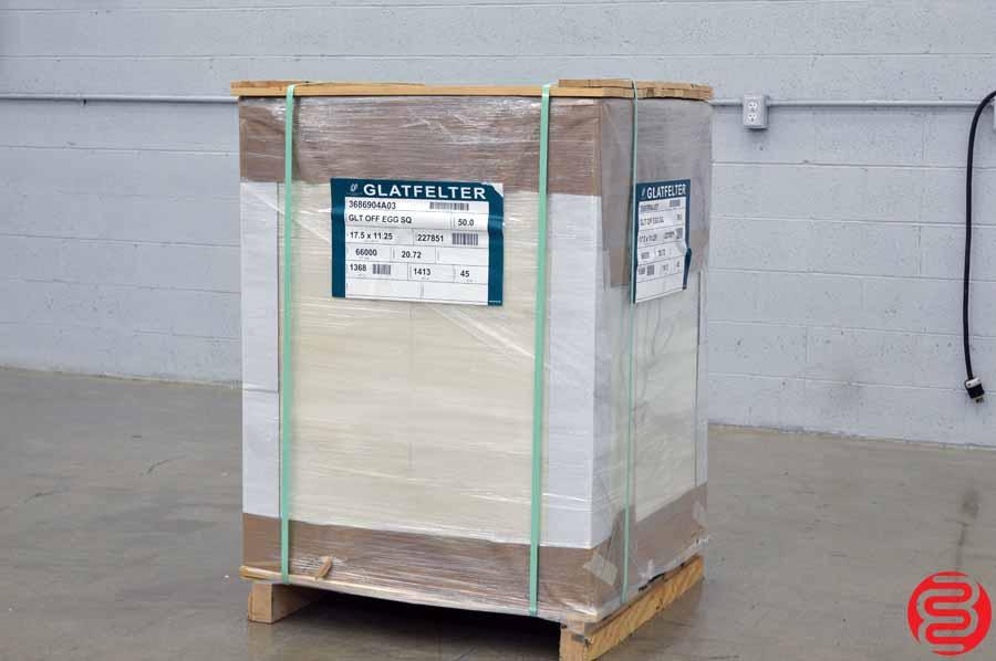 Glatfelter 50# 17.5 x 11.25 Eggshell Offset Paper