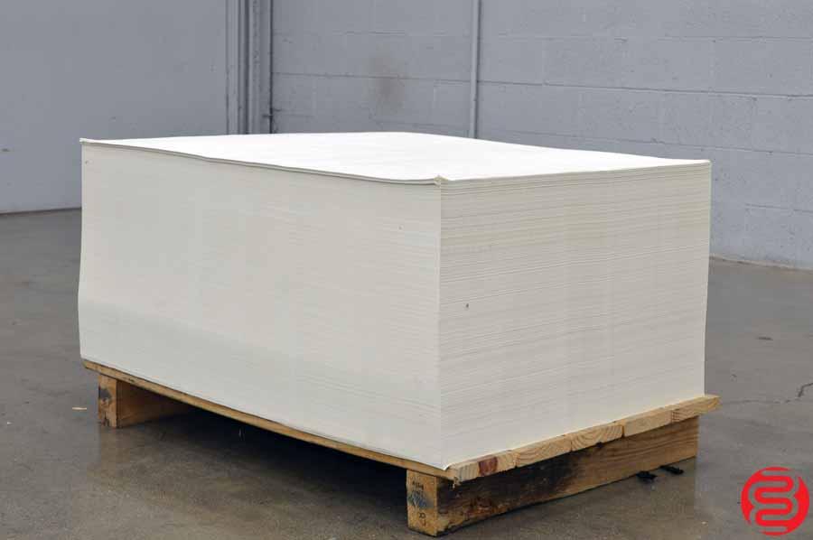 Glatfelter 60# 28 x 40 Eggshell Offset Paper