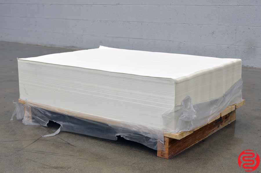 Glatfelter 60# 29 x 41 Eggshell Offset Paper