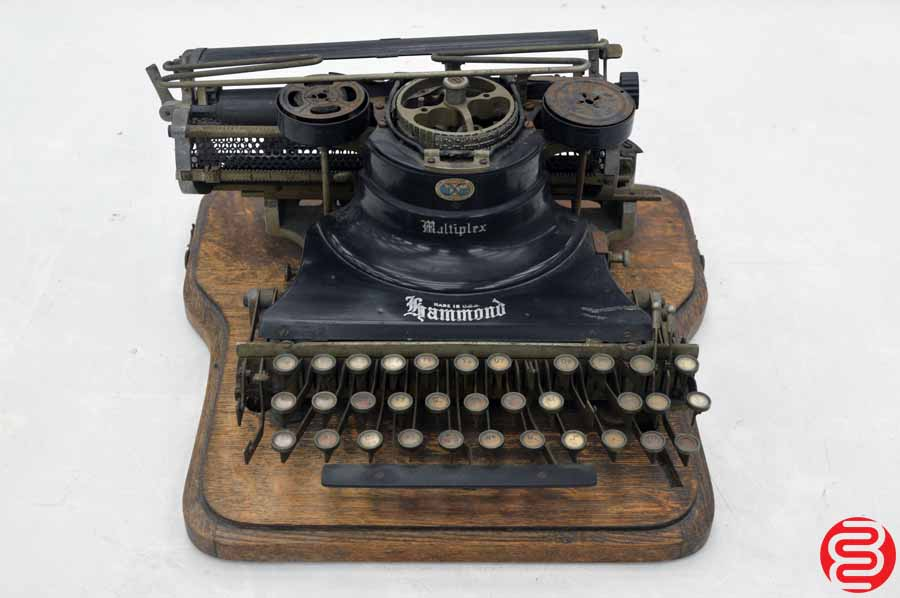 Hammond Antique Typewriter