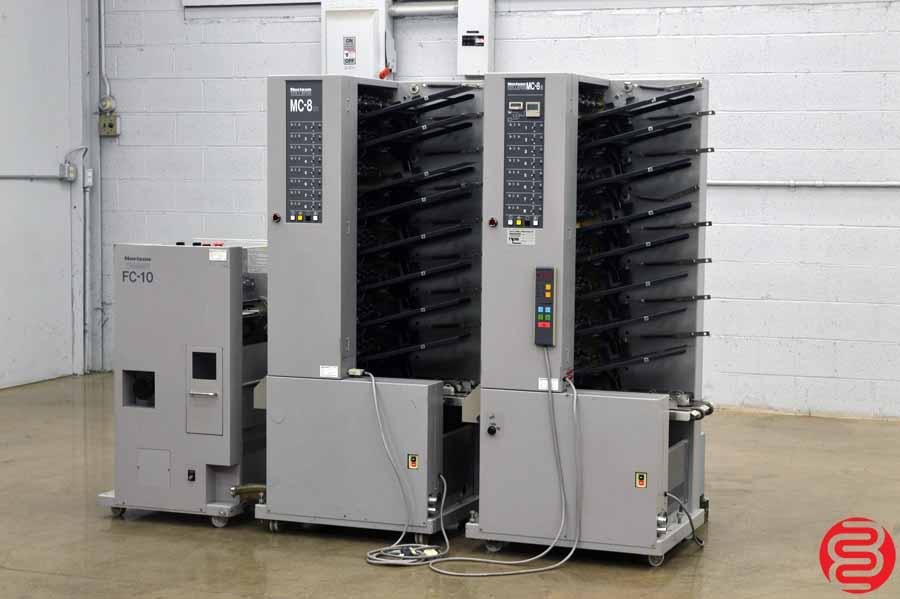 Horizon Standard MC-8 16 Bin Booklet Making System w/ FC-10 Trimmer