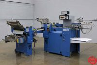 MBO B118 Pile Feed Paper Folder w/ 8 Page Unit