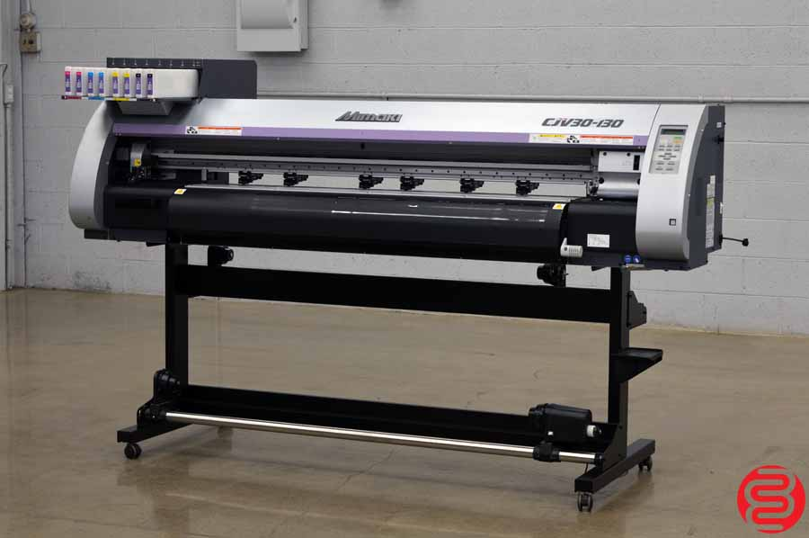 "2012 Mimaki CJV30-130 53"" Vinyl Printer Cutter"