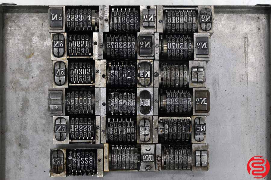Numbering Machines - Qty 18