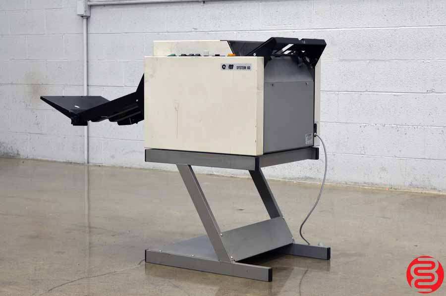 O & M Plockmatic System 60 Booklet Maker