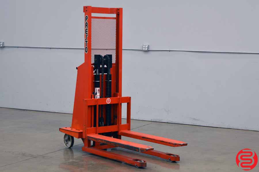 Presto Lifts WP48-30 3000 lb Stacker Fork Lift
