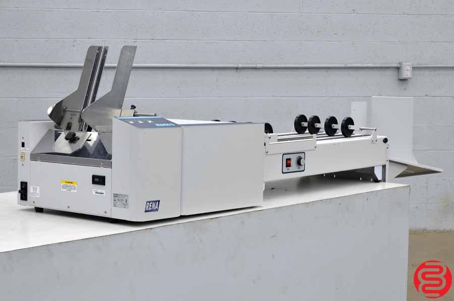 Rena / Neopost Mach 5 Envelope Printer w/ Delivery Conveyor