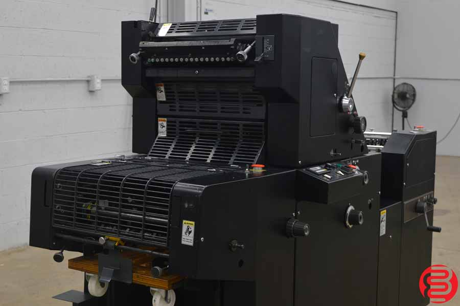 Ryobi 3300 Single Color Offset Press w/ Register Board (Sold by AB Dick as 9980) - Out of School - Low Impressions