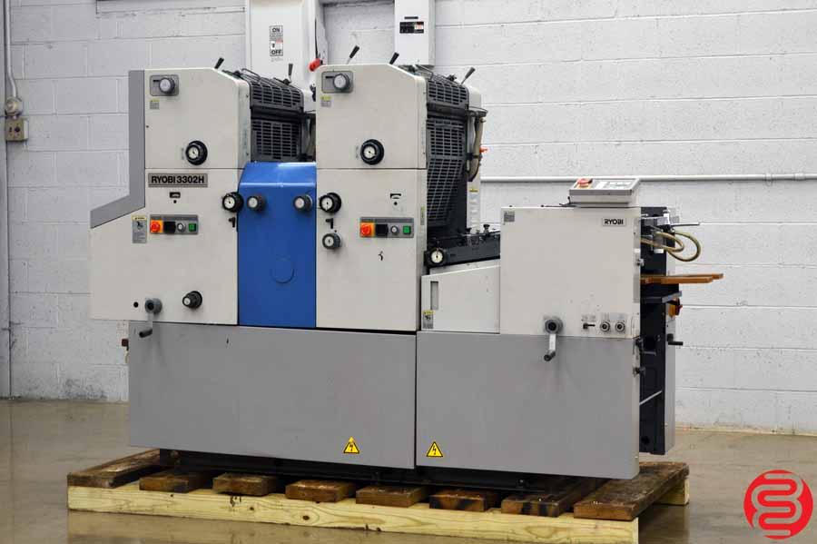 Ryobi 3302H Two Color Offset Printing Press
