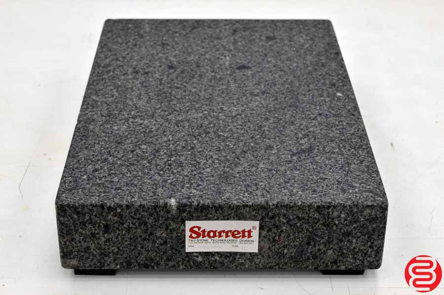Starrett 18 x 12 Grade B Granite Inspection Plate